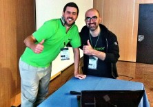 Steve ed Enrico Zimuel al PHPDay